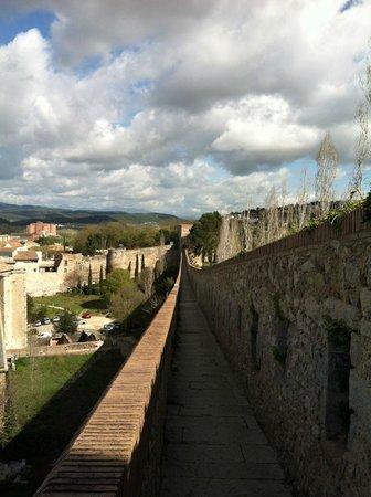 Girona, España: View from the Wall