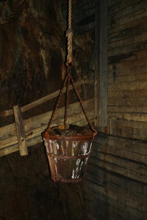 Falu Gruva: Bucket used for hauling stuff up