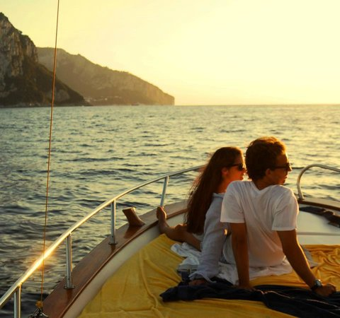 Gianni's Boat : back from Positano