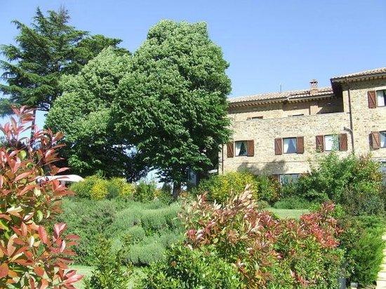 Griffin's Resort: la struttura fotografata dal giardino