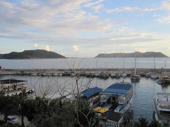 Amphora Hotel: View from Roof top pation Deja vu Kas