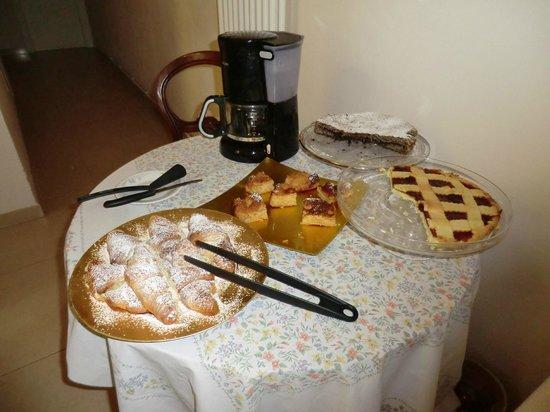 casa ilaria: Gâteaux maison au petit déjeuner !