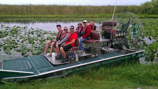 Early Morning Ride Picture Of Florida Cracker Airboat