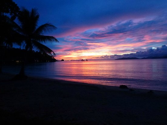 Koh Mak Resort: postcard-like sunsets