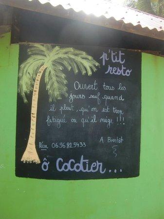 Le Cocotier : oyé!oyé!