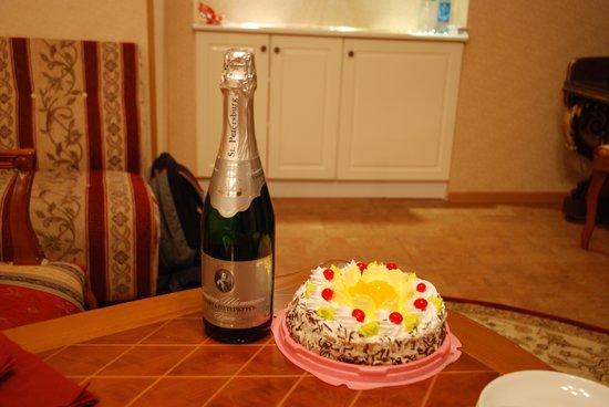 Comfort Hotel: cadeau de l'hôtel pour fêter mon anniversaire