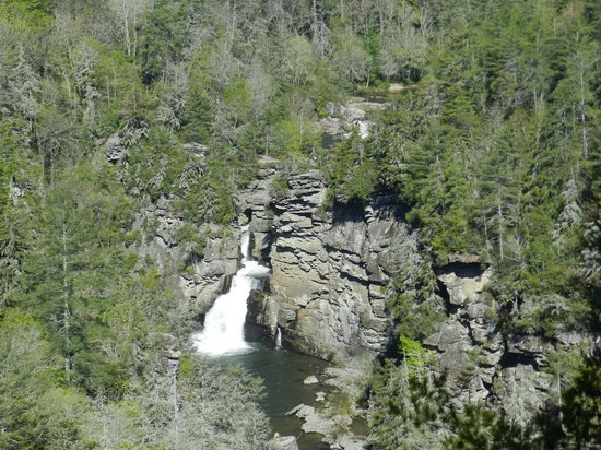 Linville Gorge: Overview from Erwin