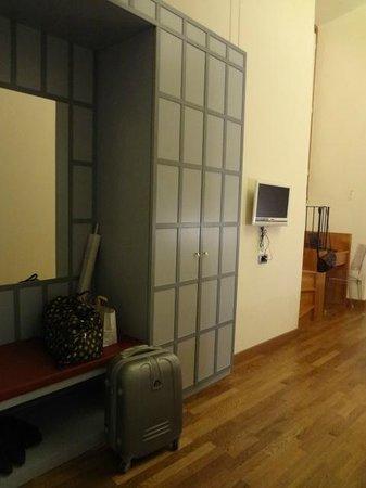 ルレ ホテル チェントラーレ, たくさんの荷物を置いてもスペースに問題なし