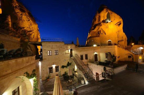 Cappadocia Cave Suites: Recepsion Terrace