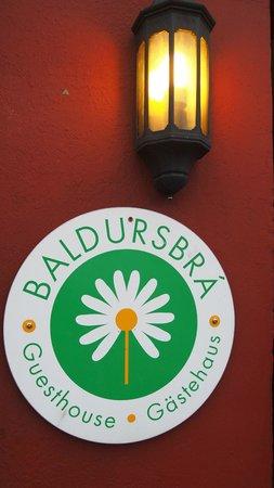 Baldursbra Guesthouse: Façade