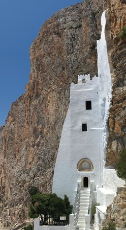 View from the walk up - Foto di Monastery of Panagia ...