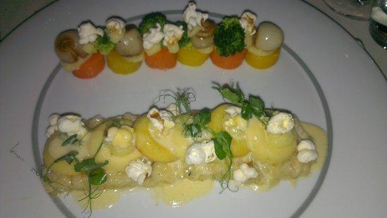 Kasteel TerWorm Restaurant: Vegetarian, nice!