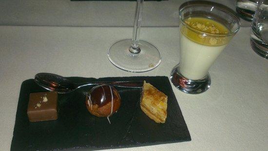 Kasteel TerWorm Restaurant: Dessert :)