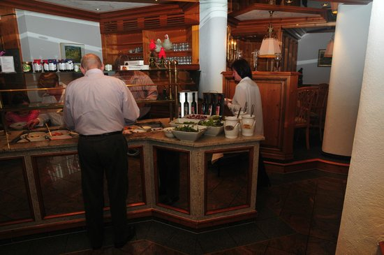 Heselbacher Hof: le buffet de crudités