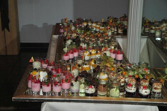 Heselbacher Hof: buffet de dessert : verrines à volonté