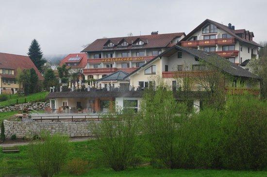 Heselbacher Hof: vue de l'Hötel