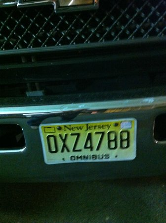 Meadowlands View Hotel: License Plate of Second Bus