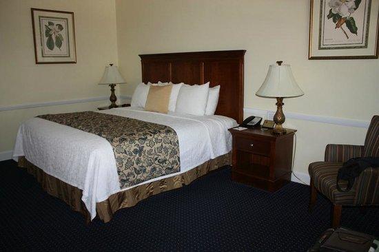 Best Western Sea Island Inn : BW Beaufort King Room