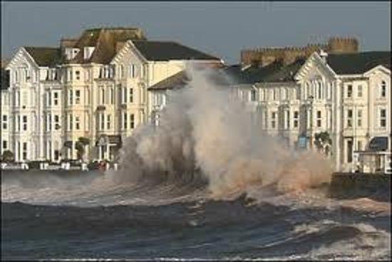 Stormy Seas Picture Of The Bath House Exmouth TripAdvisor