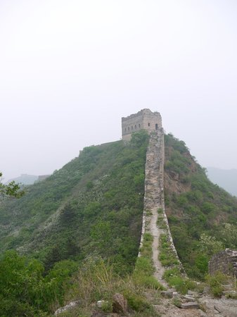 Jinshanling Great Wall: All sections were in great condition apart from the last couple