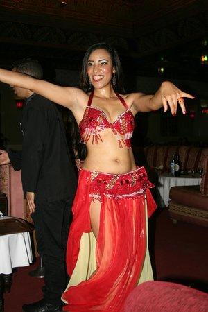 Atlantic Palace Agadir: Danseuse soirée Marocaine