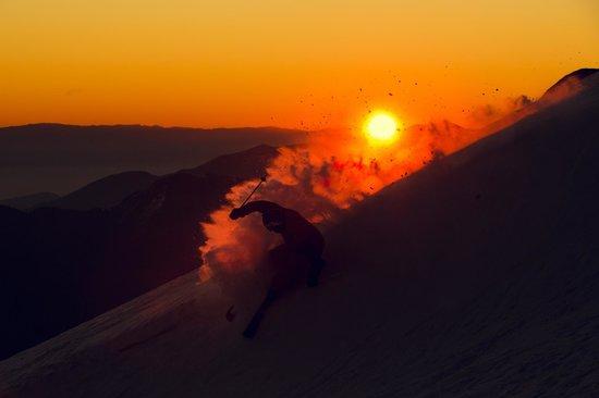 La Parva Ski Resort: Sunset are amazing