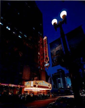 Oriental Theatre at night