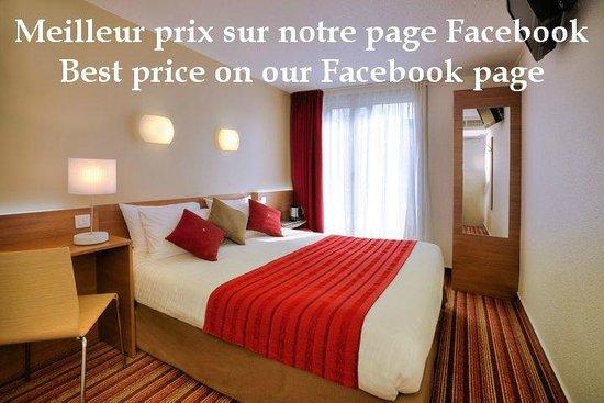 Kyriad Hotel Paris Bercy Village: Une chambre