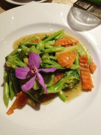 Rendez-Vous Wine Dine Coffee: légumes sautés