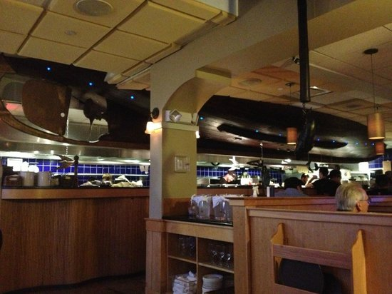 Latitude 43: Boat over open kitchen