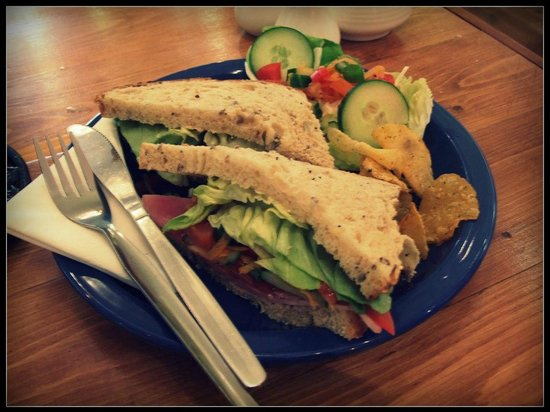 Pauline's Patch : Choice of Sandwich available - £2.95