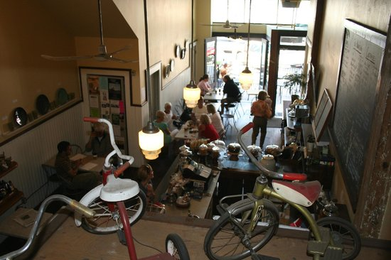 Espresso Post: The view from upstairs