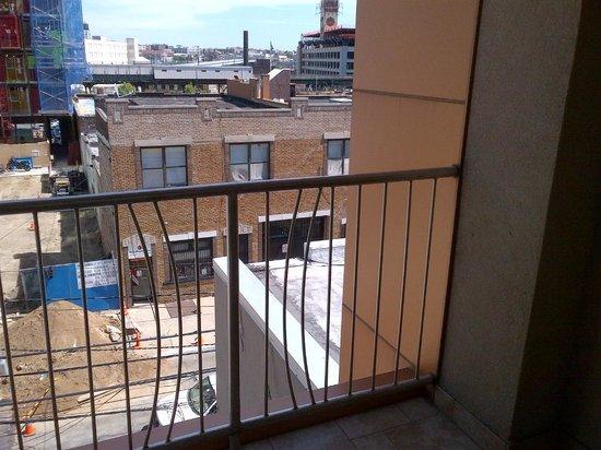 Balcony Railing Picture Of Nesva Hotel Long Island City Tripadvisor
