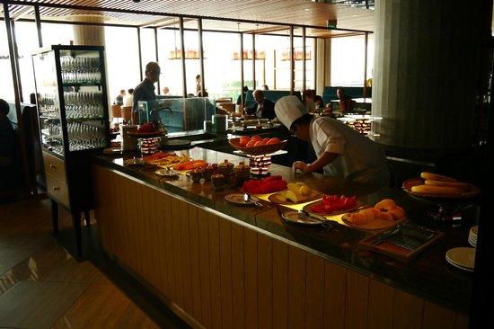 Pan Pacific Singapore: 選擇超多的早餐