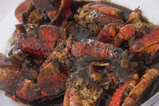 City Extra: kepiting pasir saus padang/ crab with padang sauce