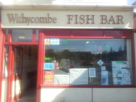 Atlantis Fish Bar: withycombe fish bar not atlantis
