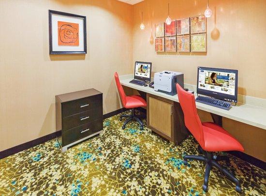 Hampton Inn Austin/Oak Hill: Business center