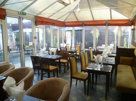 Kirkcudbright Bay Hotel: Conservatory Restaurant
