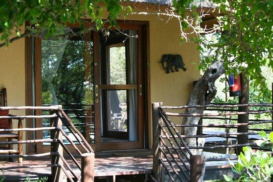 Toro Yaka Bush Lodge: Elephant room