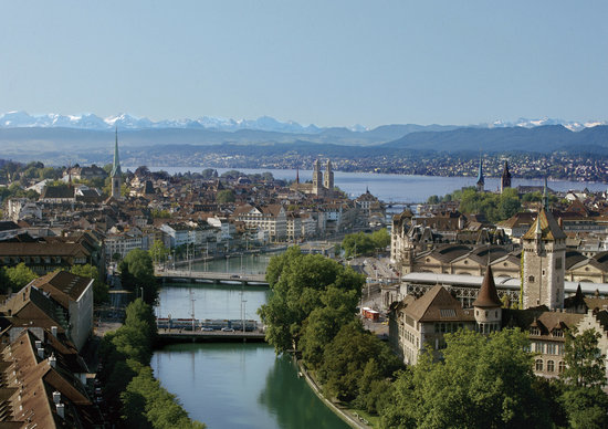 The beautiful city of Zurich Picture of Zurich Canton of Zurich