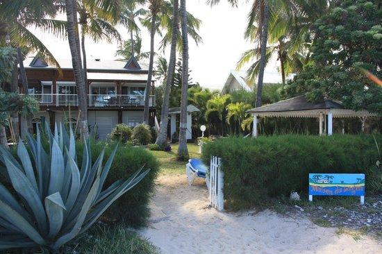 la Maison du Lagon: Vue de la plage