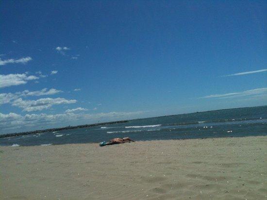 Best Western Golf Hotel : plage