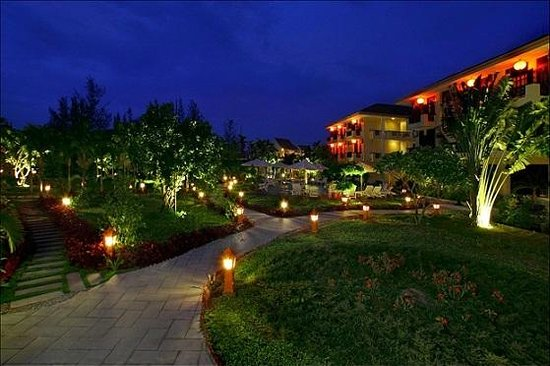 Phu Thinh Boutique Resort & Spa : the resort garden