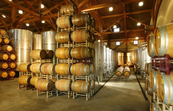 Chateau Morrisette Winery: Tour our production facility