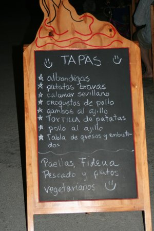 La Gloria de Don Pepe : Tapas were very tastey you will want to try a couple kinds