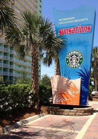 Wyndham Vacation Resorts Panama City Beach : Even with a Starbucks