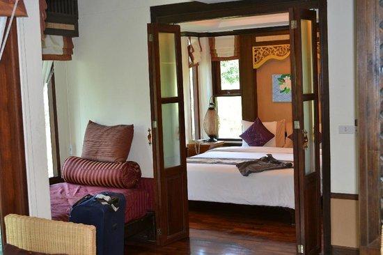 Salad Buri Resort & Spa: Vista de la habitación