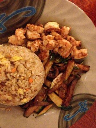 Kissho Japanese Restaurant: hibachi shrimp lunch