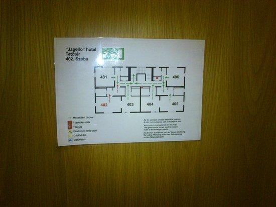 Jagello Business Hotel: Room 402 on top floor