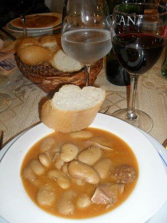 Meson Restaurante El Cordero : Marvelous Bean Soup